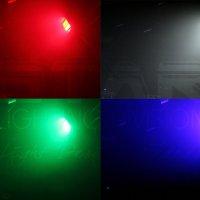 LED STROBO METEOR RGBW